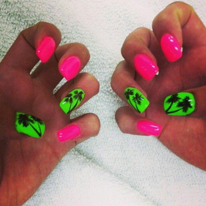 Florida Nails My Nail Designs Pinterest Florida Nails Nail