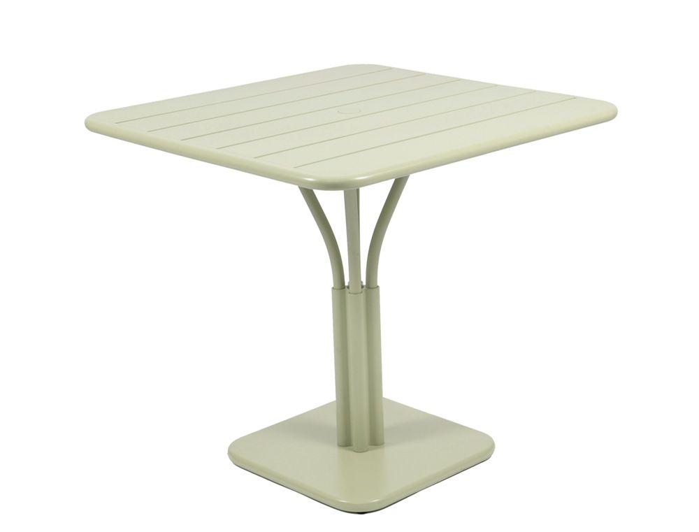 Table 80x80 Cm Luxembourg Table De Jardin Metal Table Jardin