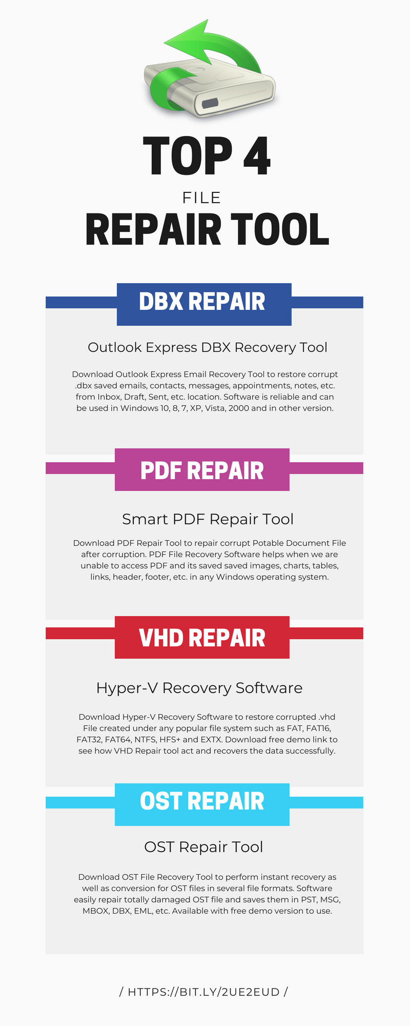 Here's introduction to top 4 file recovery software which