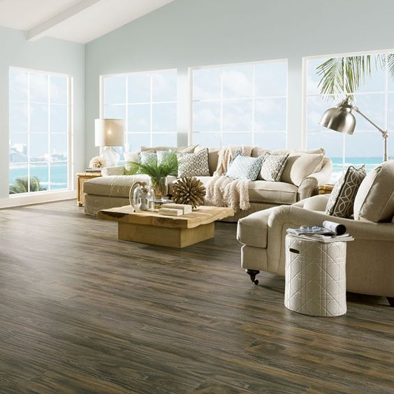 The Contrast In These Floors Is Stunning Armstrong Coastal Living Patina Weathered Laminate Flooring L3080
