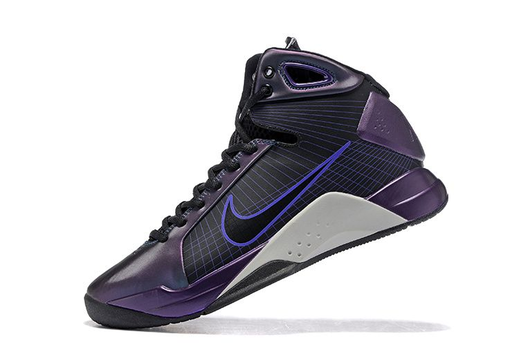 info for 93568 72f6d Nike Hyperdunk 08 2008 Kobe Black Purple White