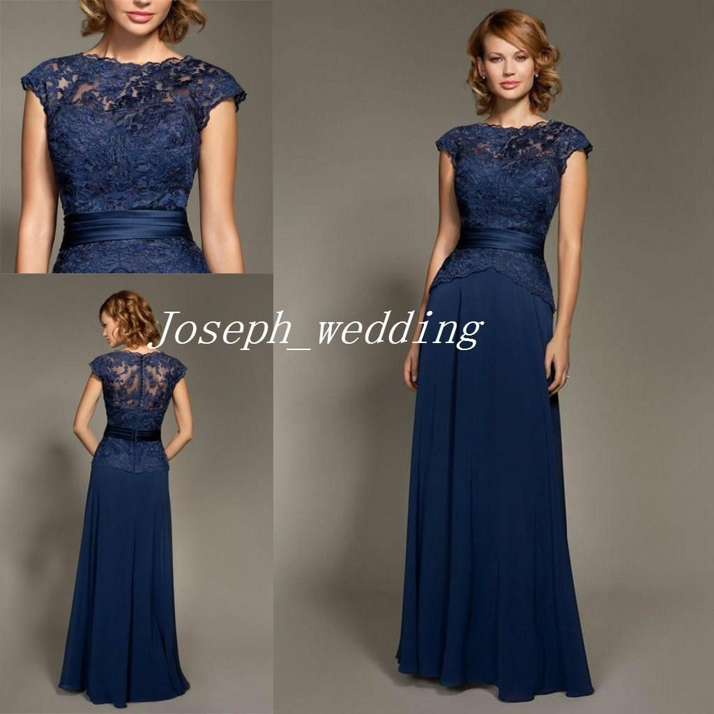 Mark lesley dark navy blue bridesmaid dress lace chiffon cheap mark lesley dark navy blue bridesmaid dress lace chiffon cheap long formal brides maid dress women gown free shipping bd208 ombrellifo Choice Image