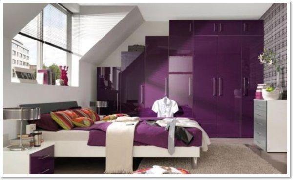 Delightful 35 Different Purple Bedroom Ideas
