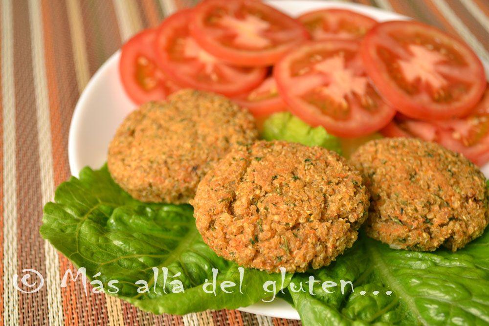 Hamburguesas de quinua con verduras receta gfcfsf vegana recetas saludables quinua sin - Cocinar quinoa con verduras ...