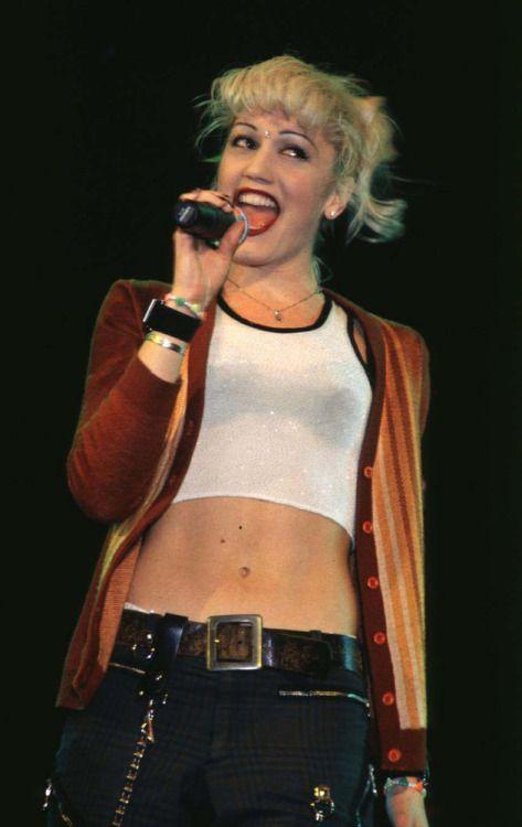 Gwen stefani 90s style dress
