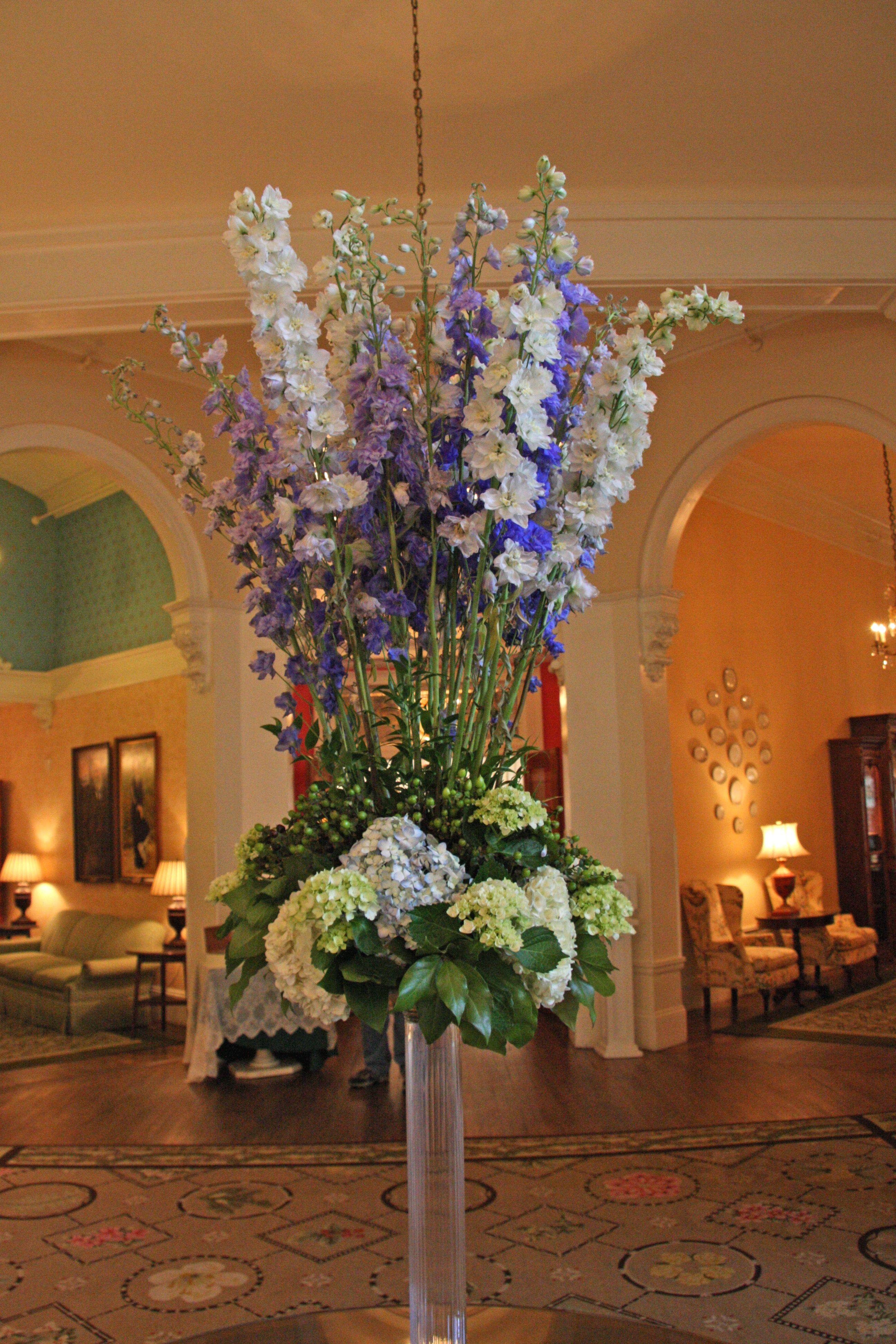 Omni Mount Washington Hotel Resor Lobby Flower