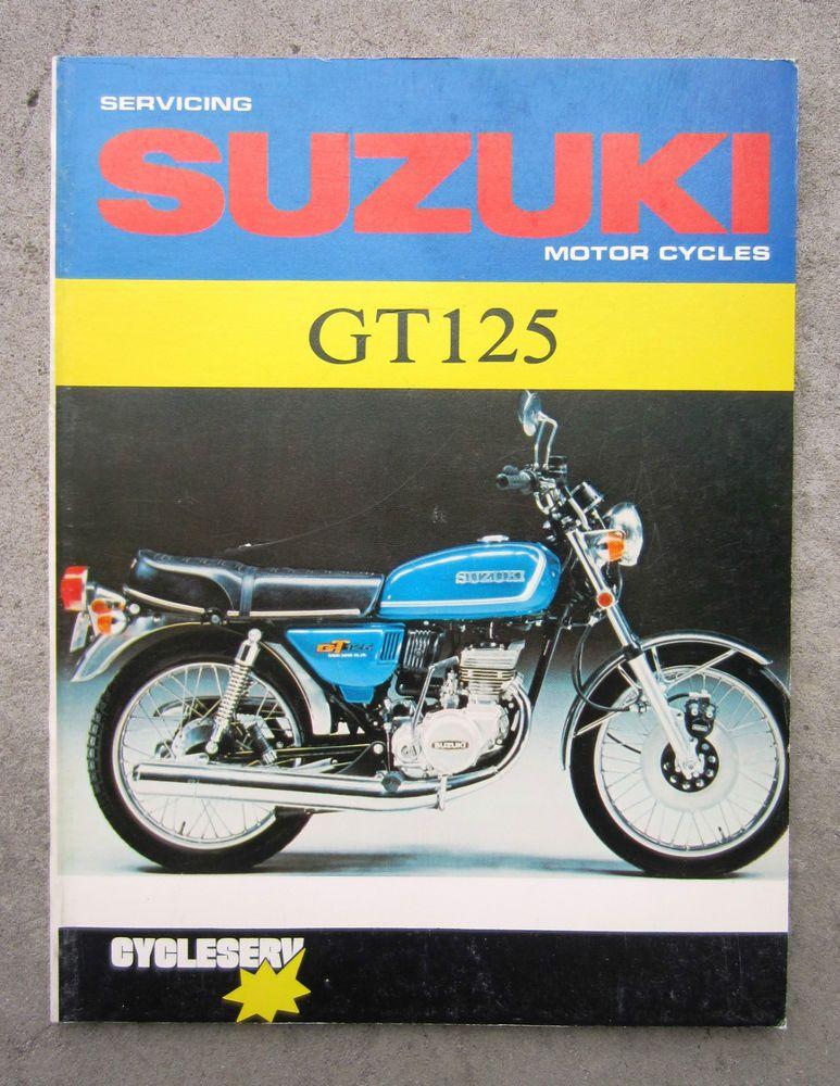 Suzuki Gt125 1976 Motorcycle Service Repair Owners Workshop Manual Book Gt 125 Suzuki Suzuki Suzuki Motor Motorcycle