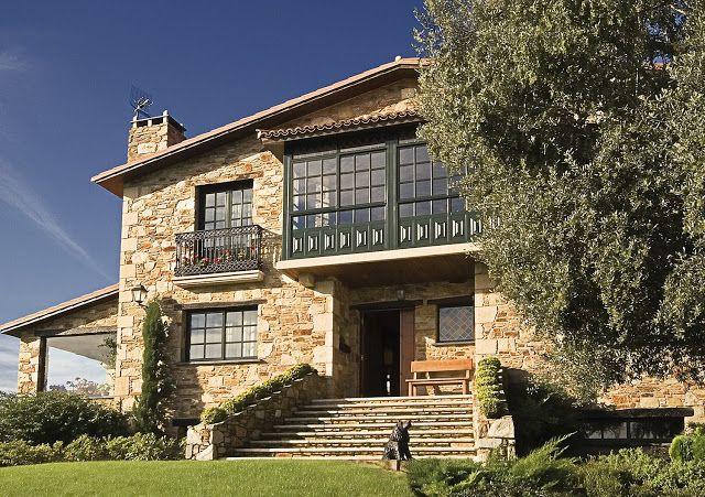 Construcciones r sticas gallegas peque os pazos casas for Construcciones rusticas