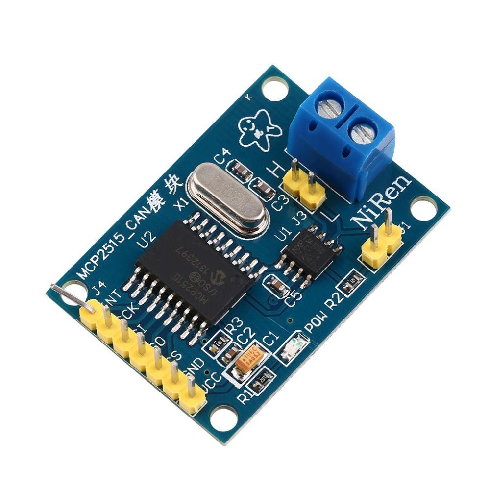 MCP2515 CAN Bus Ricevitore Bordo del Modulo TJA1050 SPI Per 51 MCU ARM Controller NUOVO