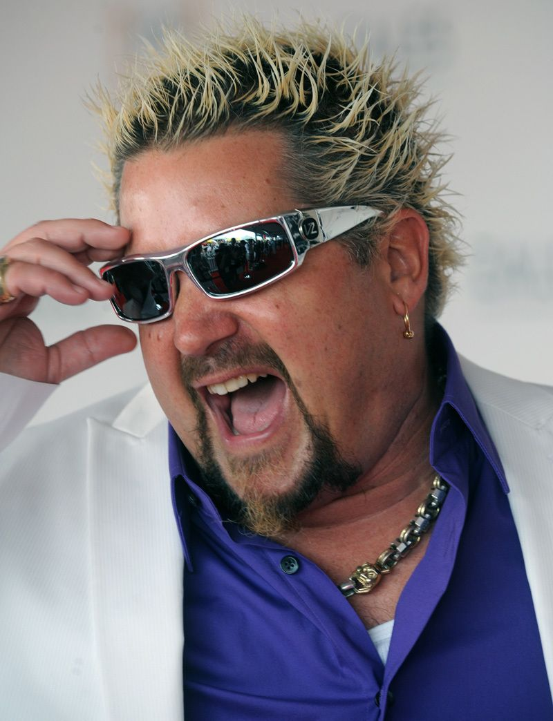 9de4685e12 Guy Fieri in the VonZipper Kickstand.