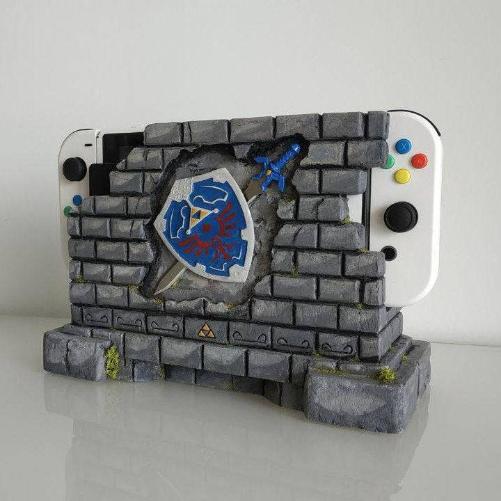 Legend of Zelda Switch Dock made by MugenNoMise -