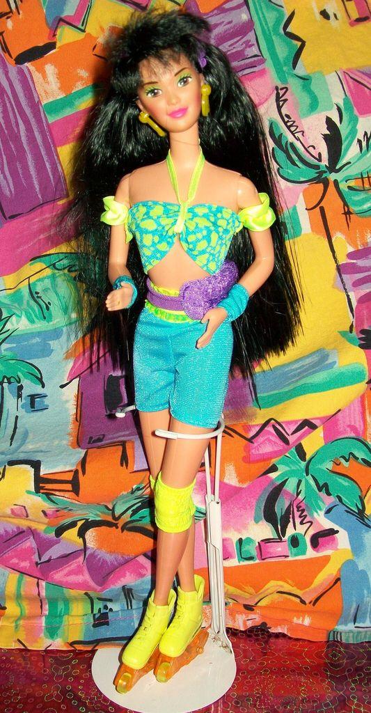 Image result for barbie rollerblade kira