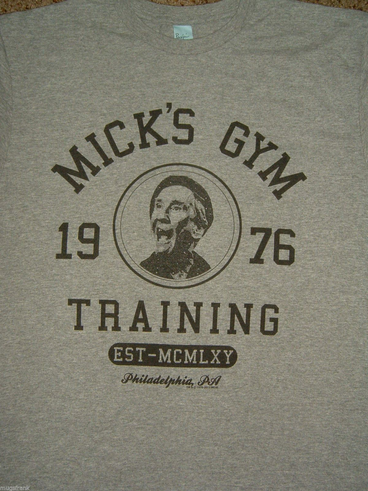 1976 Mickey/'s Gym Rocky inspired mens film t-shirt