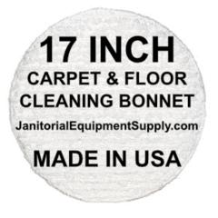 17 Inch Floor Machine Cleaning Bonnet Carpet Bonnet Floor Cleaner Beige Marble Floor Machine