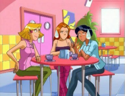 Totally spies season 2 home totally spies season 2 40 stark raving mad totally spies - Dessin anime de totally spies ...