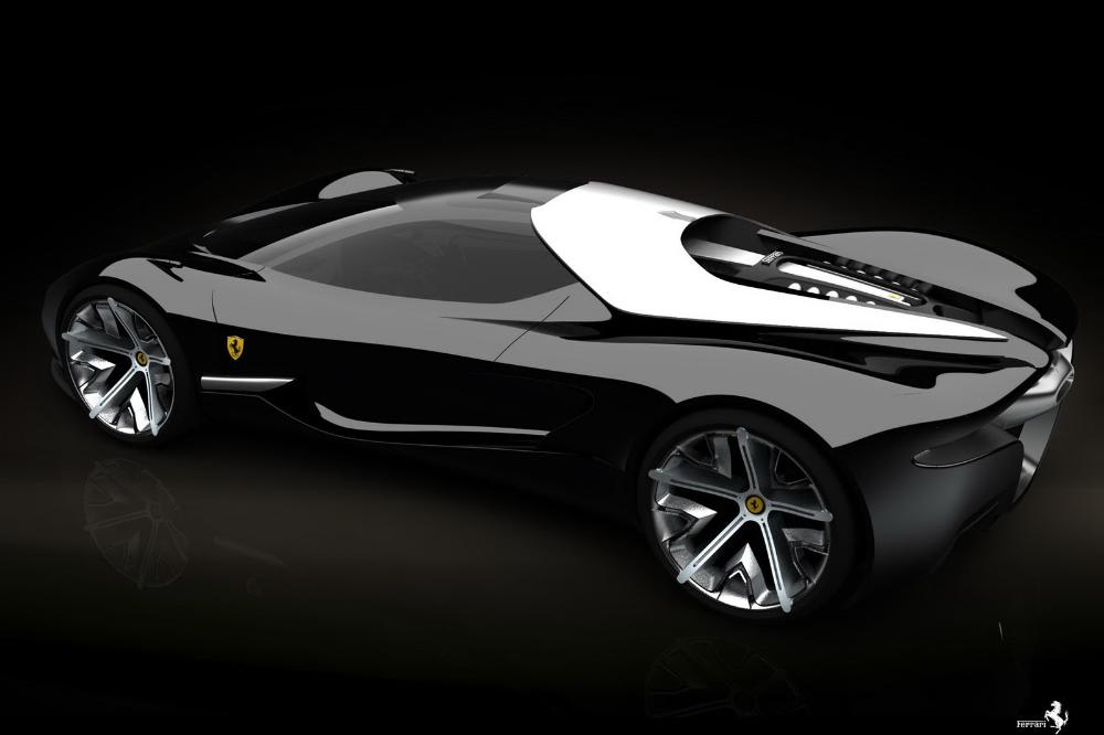 Ferrari World Design Contest Finalist Samir Sadikhov's Xezri Supercar Concept in Detail #newferrari