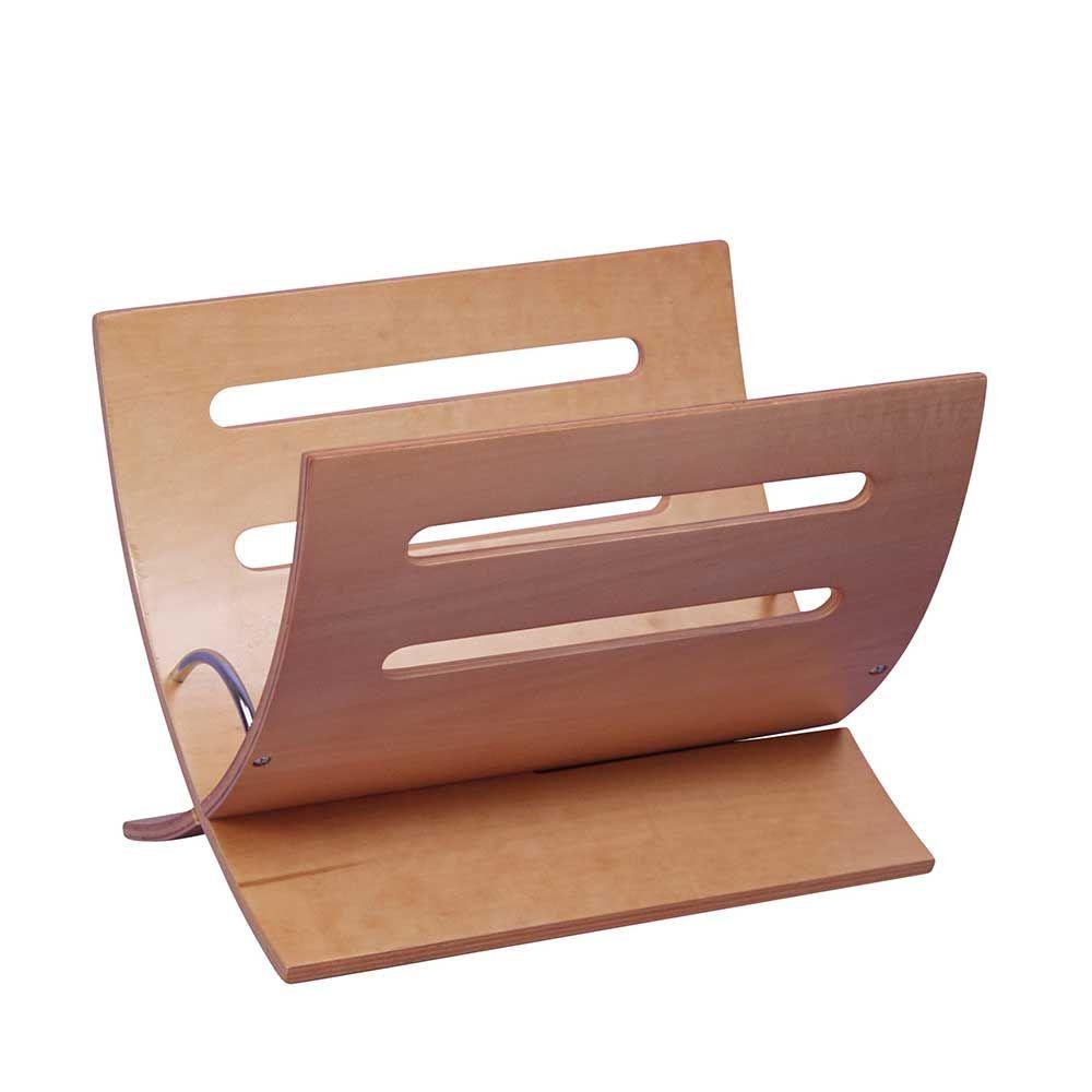Zeitungshalter aus birke schichtholz modern jetzt for M bel aus polen bestellen