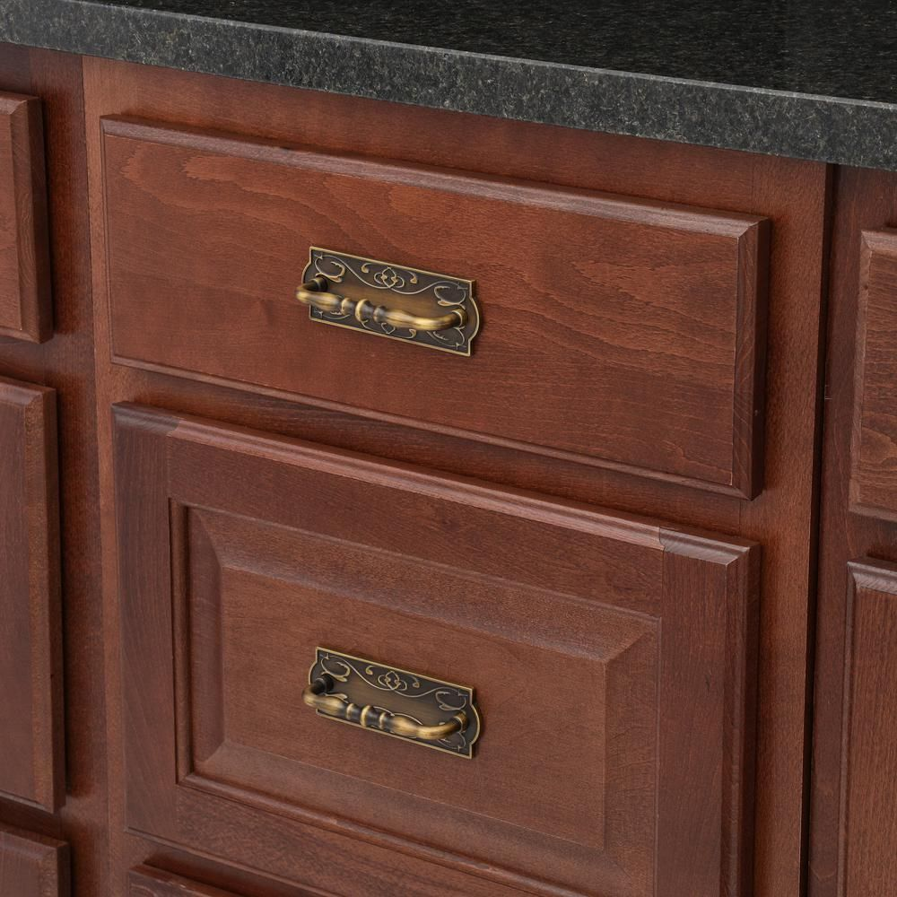 Stanley National Hardware Victoria 3 1 2 In Cabinet Pull In