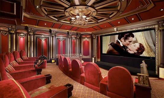 This Is The Most Beautiful Home Theater Ever Home