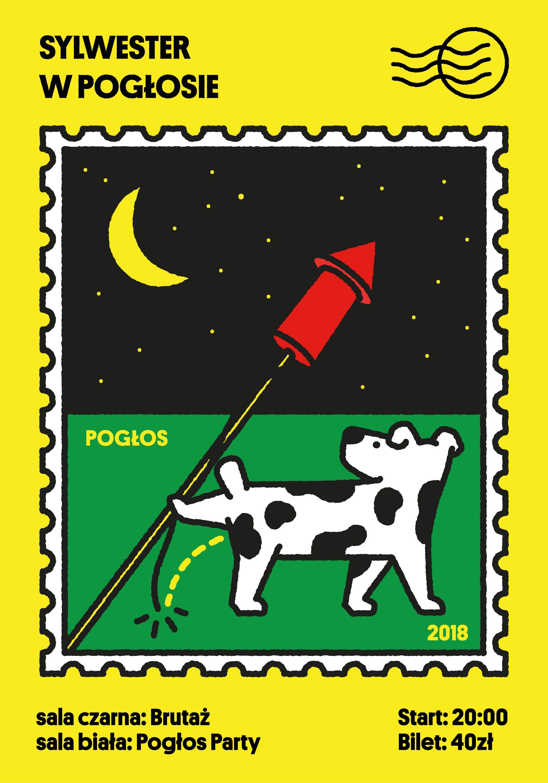 New Years Eve At Pogłos Poster Michal Loba Michal Loba