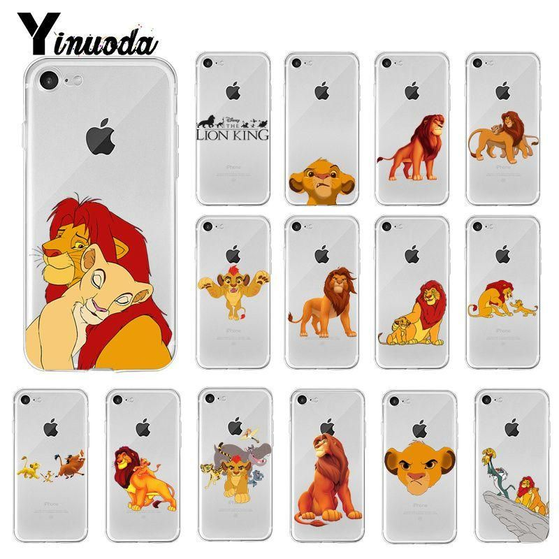 Lion King Simba Cartoon fashion Phone Case Cover for iPhone 6S ...