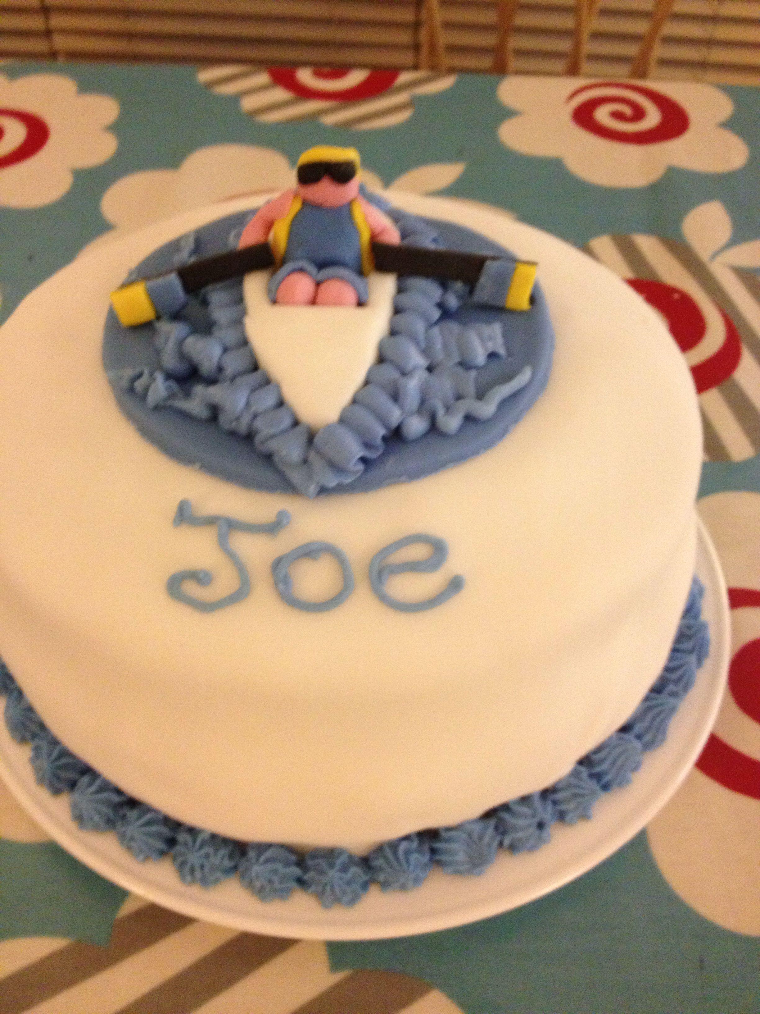 My own version of a rowing cake!! Happy birthday joe!   Cakes   Cake ...