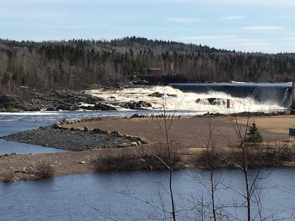 Bishop Falls By Tracy Alderson 96 Newfoundland Canada Coast