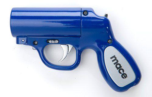 Mace Police Strength Pepper Spray Pepper Gun (Blue