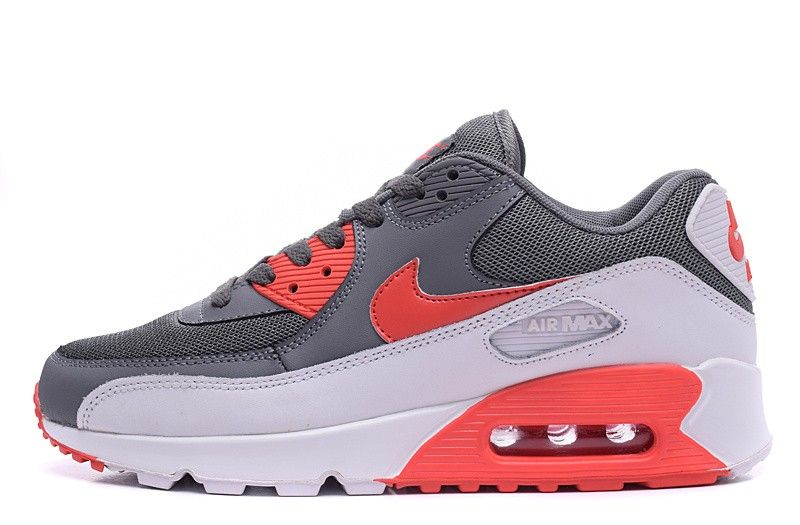 Nike Air Max 90 Essential Men Woman Trainers University Red Wolf