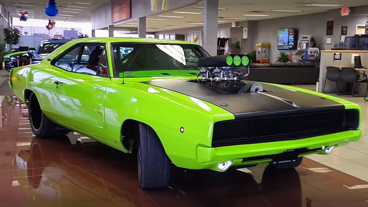 Check This Super Cool 1968 Dodge Charger 526 Blown Hemi Dodge