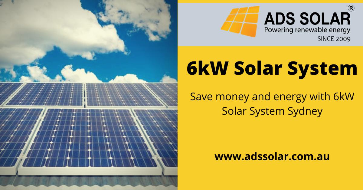 6kw Solar Power System Ads Solar In 2020 Solar Solar System Solar Power System