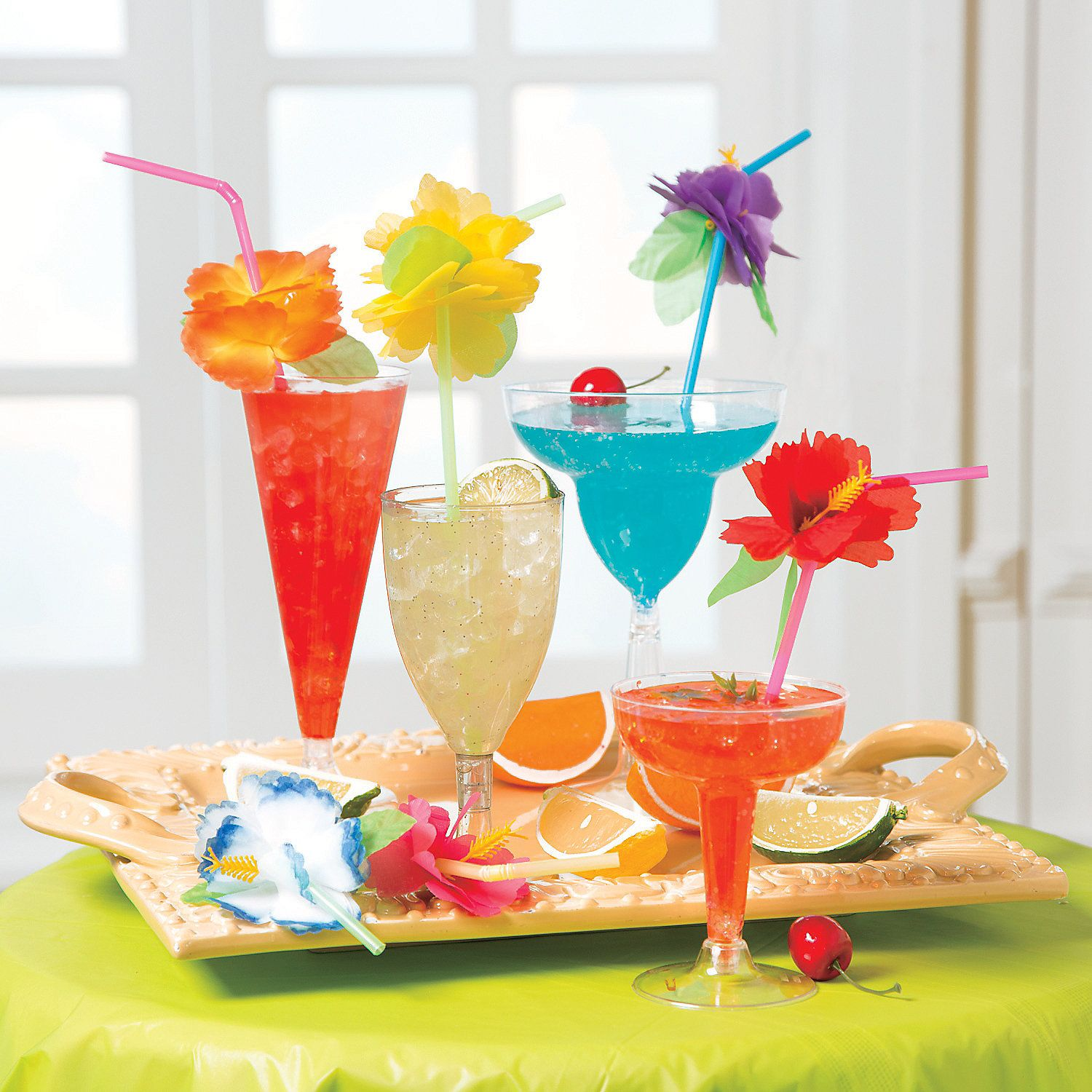 Summer Cocktail Recipes from OrientalTrading.com