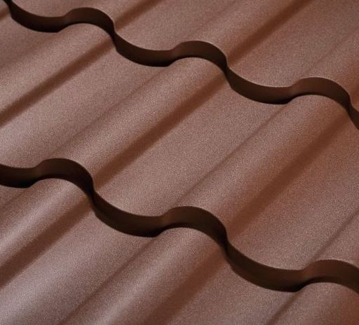 Modus Tile Effect Steel Roofing Sheet Gloss Polyurethane Roofeo Ltd Metal Roofing Materials Steel Roofing Sheets Metal Shake Roof