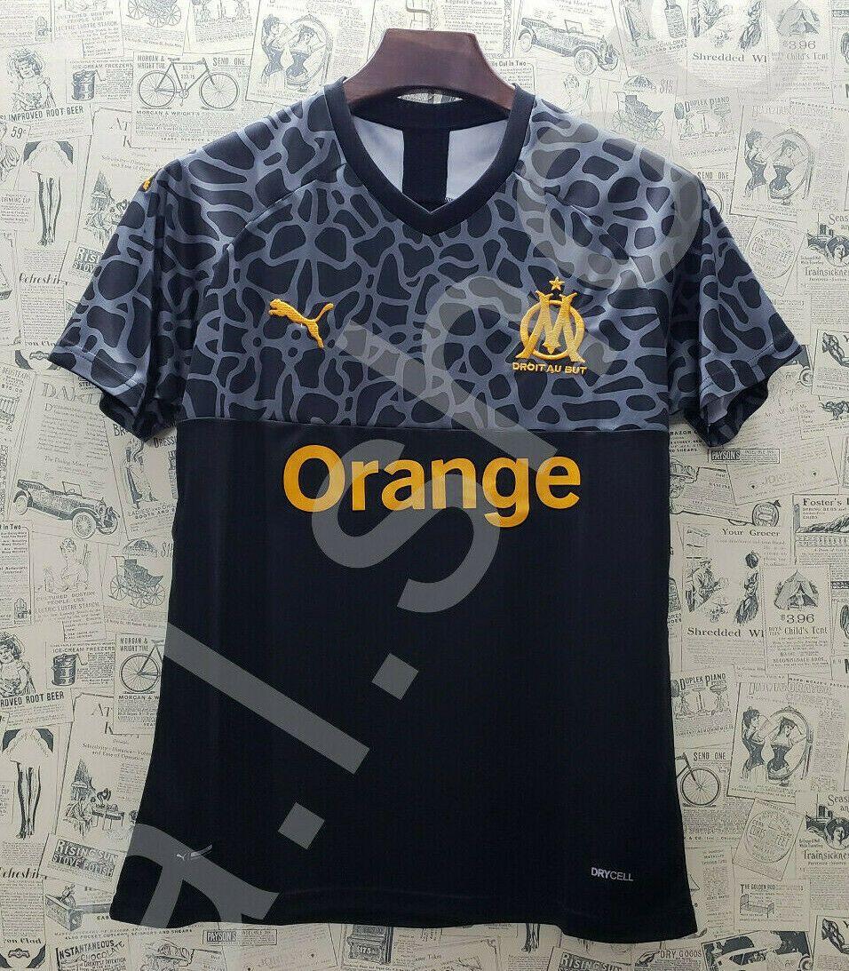 Maillot de football Olympique de Marseille OM saison 2019//2020 S-M-L-XL-XXL
