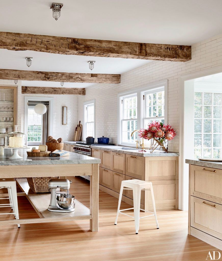 Basic kitchen cabinets  Pilar Guzmán and Chris Mitchellus East Hampton Home  Home