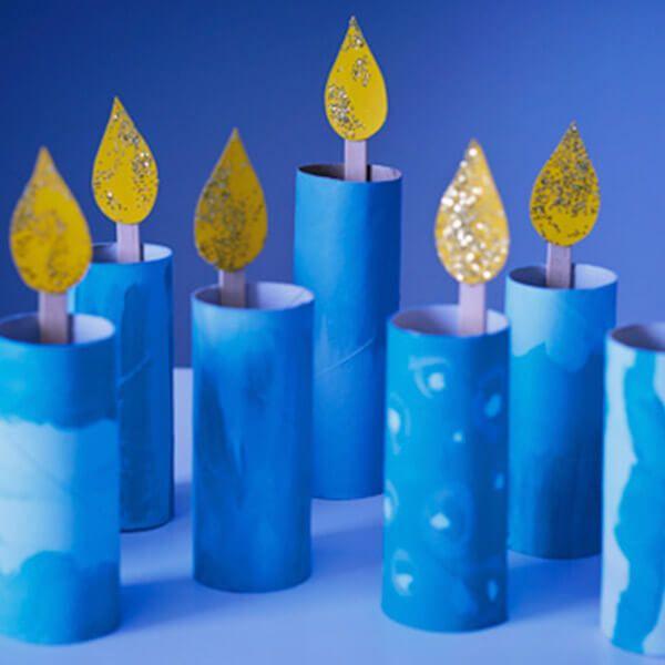 Photo of Make the season sparkle with these 4 Hanukkah menorah crafts