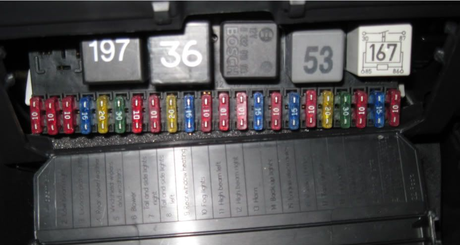 2012 Jetta Se Fuse Diagram