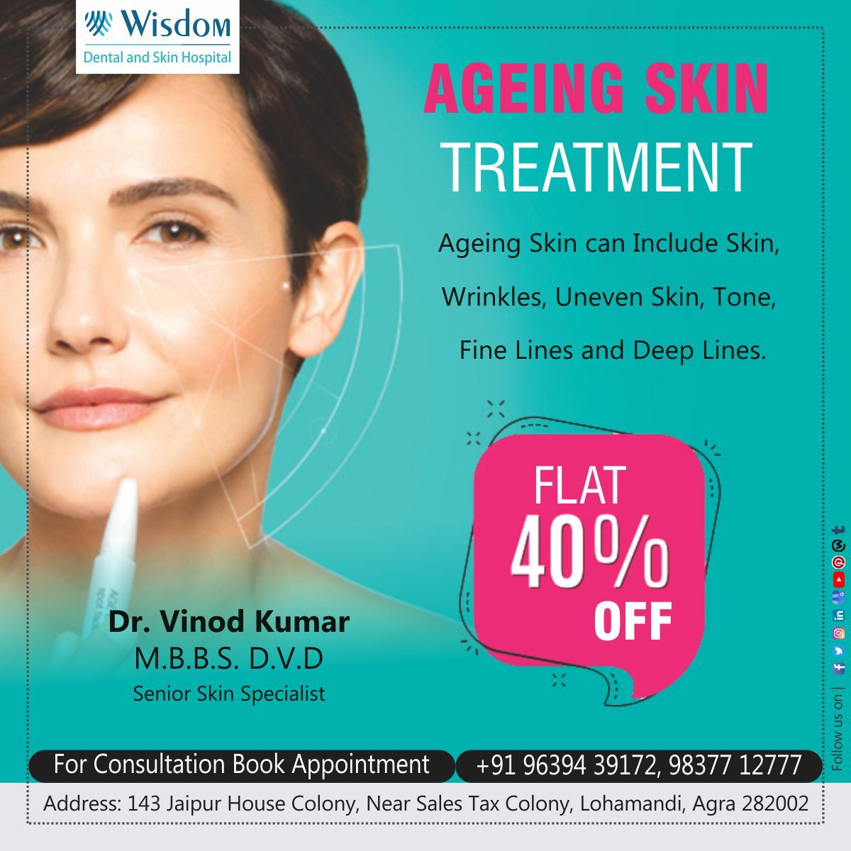 We Are Offering Happy Hours Skin Treatments Skin Specialist Uneven Skin