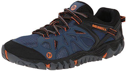 Merrell Herren Moab Edge Waterproof Trekking & Wanderhalbschuhe