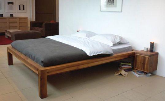 Letto matrimoniale moderno in legno maxim : new vip mobilificio ...