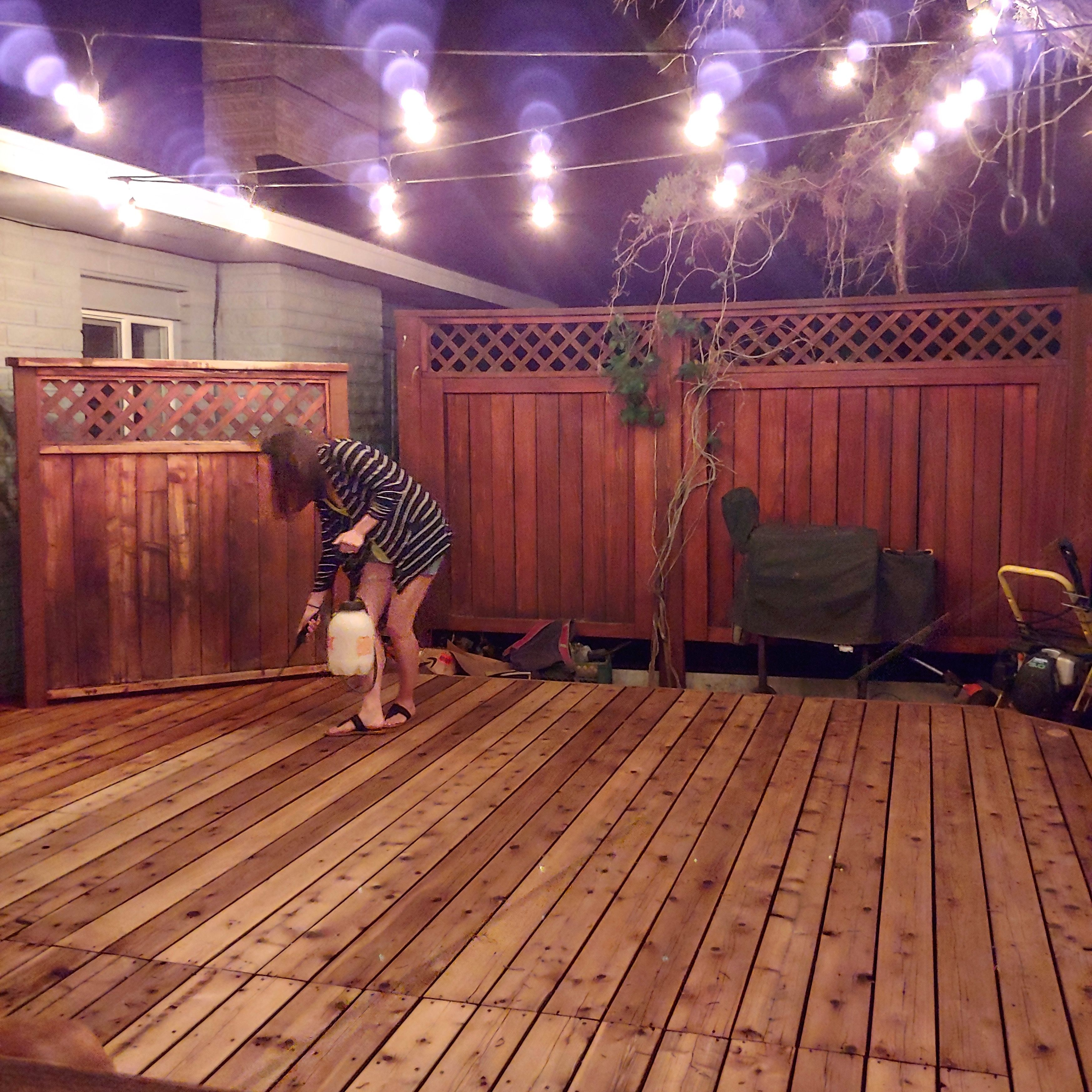 How To Restore A Deck That Has Been Neglected With Images Deck Restoration Diy Deck Deck