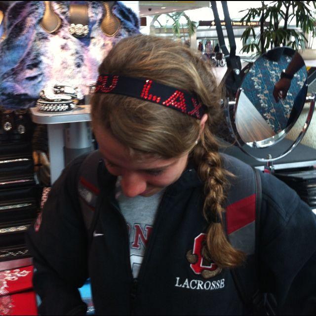 Cu Sweet Lax Bedazzle Hair Styles Hair Wrap Lacrosse