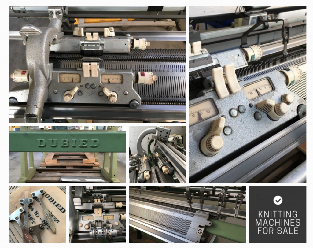 We Search And Sell Second Hand Vintage Dubied Hand Knitting Machine