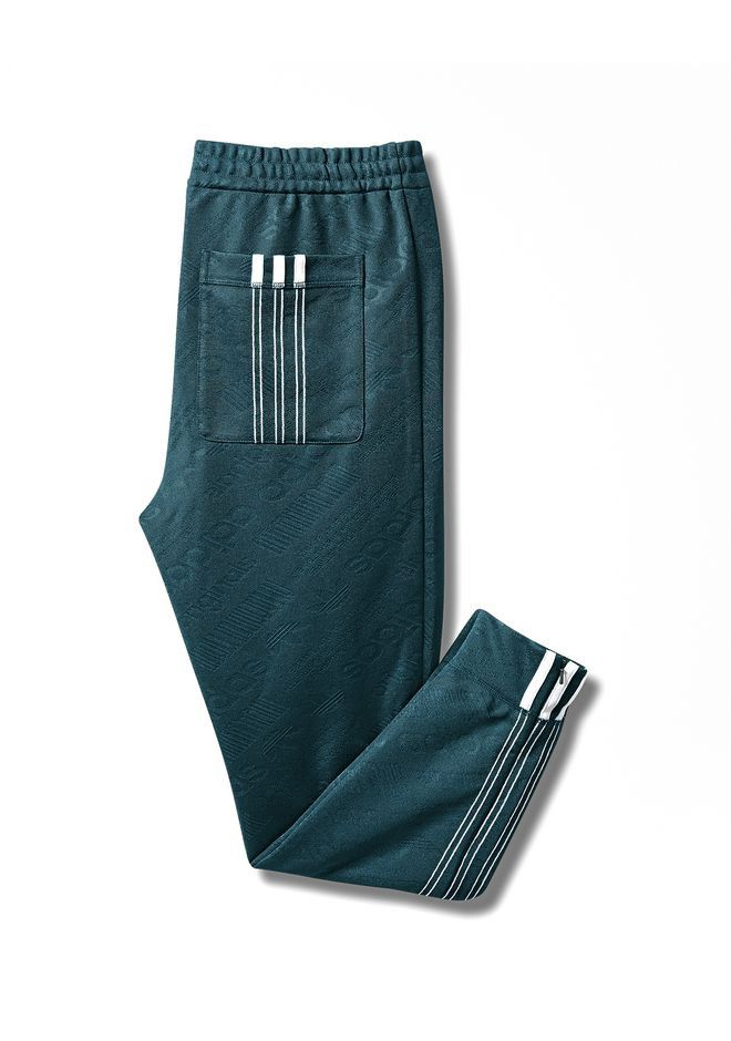 0487792c0aa ALEXANDER WANG ADIDAS ORIGINALS BY AW JACQUARD JOGGERS - DARK GREEN.   alexanderwang  cloth