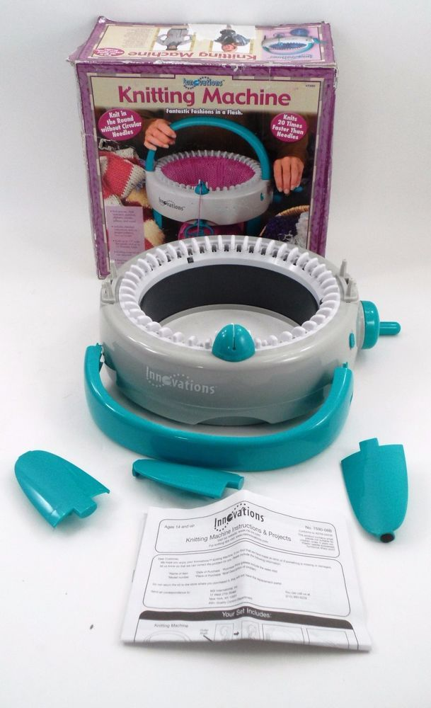 2011 Innovations Knitting Machine 7590 Knit in the Round ...