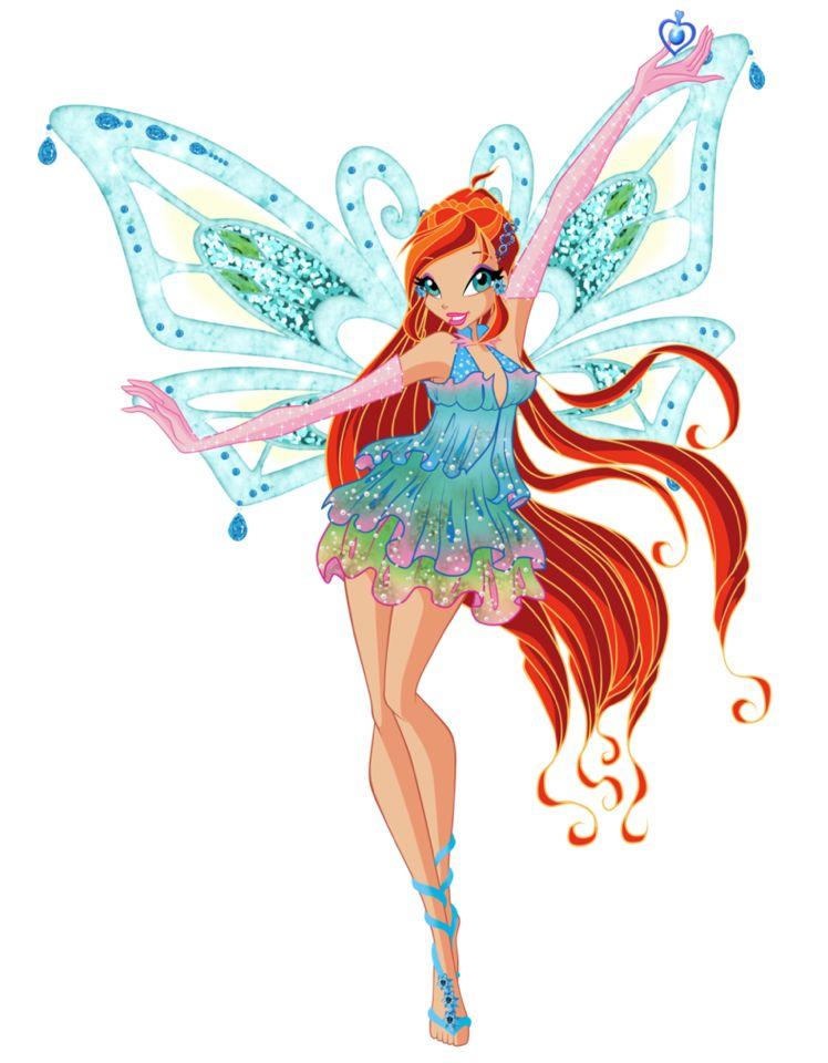 Bloom Enchantix Fairydust Png Bloom Winx Club Winx Club Cartoon
