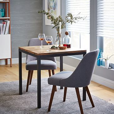 Box Frame Square Dining Table Wood Westelm 400 30 X 30