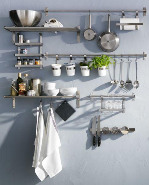 image result for ikea metal kitchen shelves uk flat pinterest