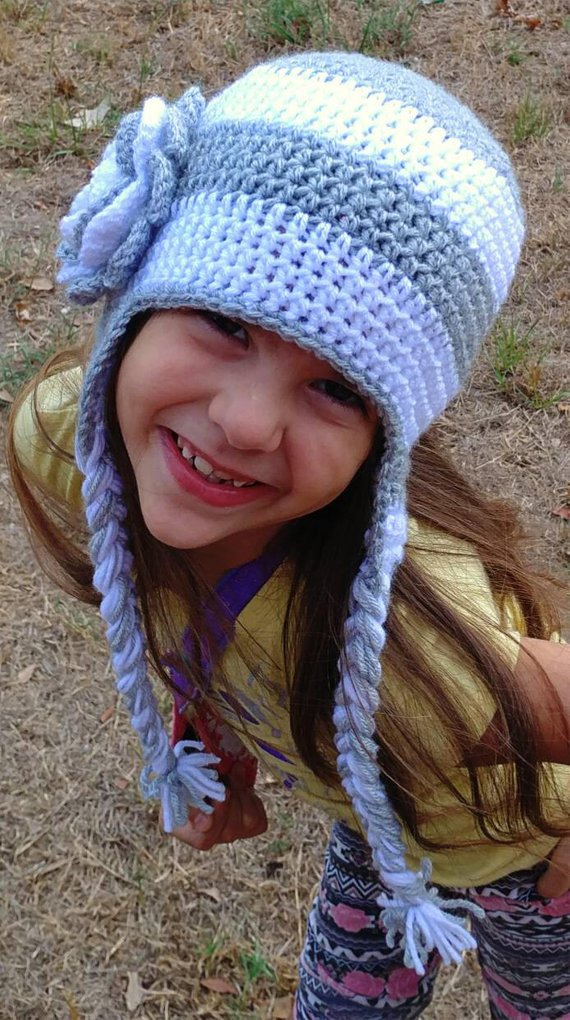 Snazzy hat ONE ready to ship hat with braids bd1265ca716
