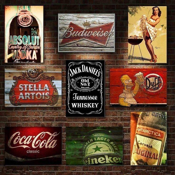 Quadro decorativo para bares e restaurantes